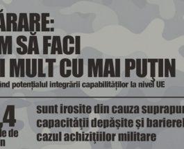 Apărare: UE susține dezvoltarea echipamentului militar