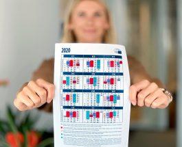 Secretul culorilor din calendarul Parlamentului European