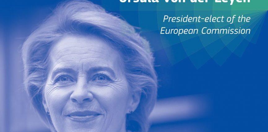 Președintele-ales Ursula von der Leyen