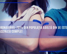 Coronavirus: 70% din populația adultă din UE este vaccinată complet