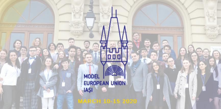 Model European Union Iași – Uniunea Europeană mai aproape de tineri