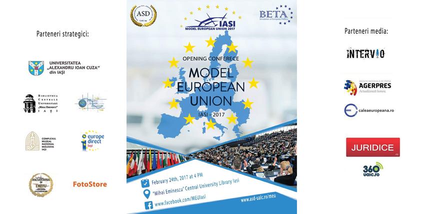 Asociația Studenților la Drept organizează primul Model European Union din România