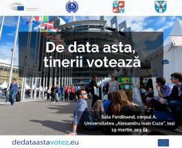 De data asta, tinerii votează @ Iași