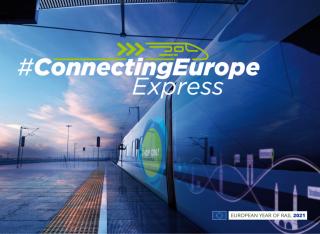 Trenul Connecting Europe Express: 26 de țări, 100 de localități, 20 000 de kilometri