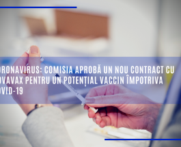 Coronavirus: Comisia aprobă un nou contract cu Novavax pentru un potențial vaccin împotriva COVID-19