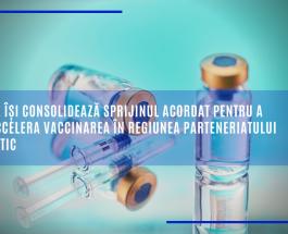 UE își consolidează sprijinul acordat pentru a accelera vaccinarea în regiunea Parteneriatului estic