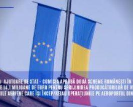 România: Ajutoare de stat – Comisia aprobă două scheme românești în valoare totală de 14,1 milioane de euro pentru sprijinirea producătorilor de vin și pentru companiile aeriene care își încep/reiau operațiunile pe aeroportul din Sibiu