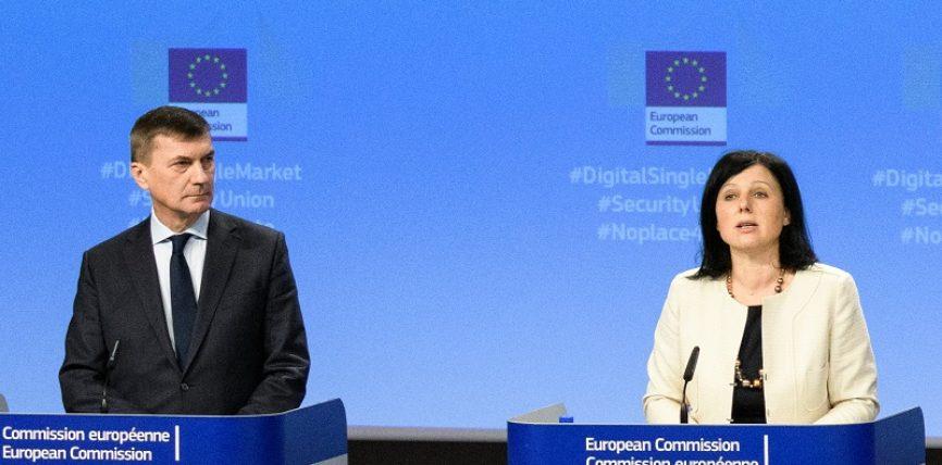 Declarația vicepreședintelui Ansip și a comisarului Jourová înainte de începerea aplicării Regulamentului general privind protecția datelor