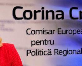 Comisarul european Corina Creţu a aprobat modificarea Programului Operațional Regional 2014-2020 pentru a simplifica accesul beneficiarilor la fondurile europene