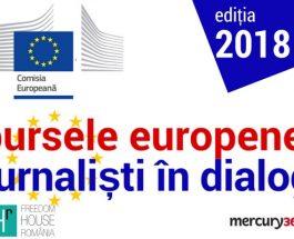 """Înscrieri la """"Bursele Europene: Jurnaliști în dialog 2018"""""""