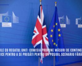 Relațiile cu Regatul Unit: Comisia propune măsuri de contingență specifice pentru a se pregăti pentru un posibil scenariu fără acord
