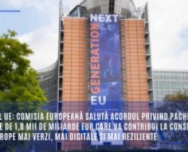 Bugetul UE: Comisia Europeană salută acordul privind pachetul în valoare de 1,8 mii de miliarde EUR care va contribui la construirea unei Europe mai verzi, mai digitale și mai reziliente