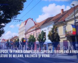 Cluj-Napoca, în finala competiției Capitala europeană a inovării 2020 alături de Milano, Valencia și Viena