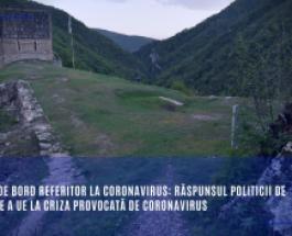Tablou de bord referitor la coronavirus: Răspunsul politicii de coeziune a UE la criza provocată de coronavirus