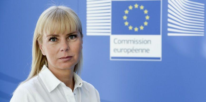 Comisarul Elżbieta Bieńkowska în vizită la București