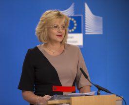 Comisarul european Corina Crețu a aprobat investiții în valoare de 155 milioane de euro în domeniul infrastructurii de gestionare a apei din România