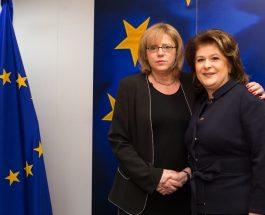 Comisarul european Corina Crețu a discutat viitorul politicii de coeziune cu ministrul român al fondurilor europene Rovana Plumb
