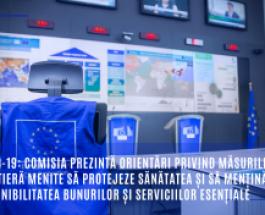 COVID-19: Comisia prezintă orientări privind măsurile la frontieră menite să protejeze sănătatea și să mențină disponibilitatea bunurilor și serviciilor esențiale