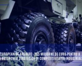Fondul european de apărare: 205 milioane de euro pentru a stimula autonomia strategică și competitivitatea industrială în UE