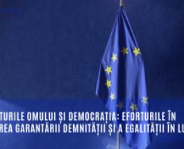 Drepturile omului și democrația: eforturile în vederea garantării demnității și a egalității în lume