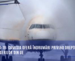 COVID-19: Comisia oferă îndrumări privind drepturile pasagerilor din UE