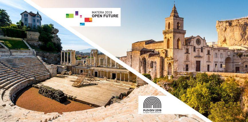 Capitalele europene ale culturii în 2019: Plovdiv și Matera