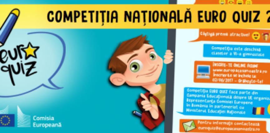 """Uniunea Europeană ajunge în școlile și liceele din România prin noua campanie """"Europa, Casa noastră"""""""