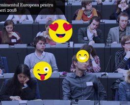 Tânăr și inspirat? Participă la EYE 2018 pentru a modela viitorul Europei!