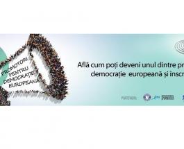 Promotori pentru democrație europeană 2017