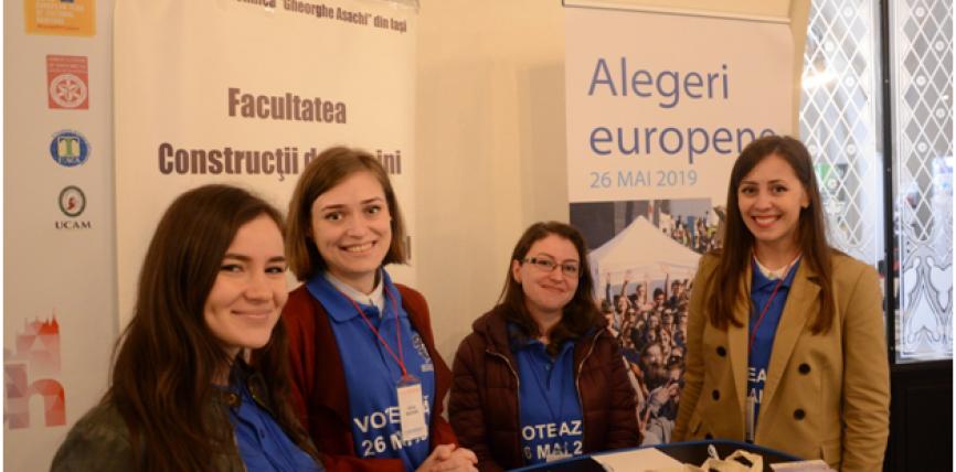 Standul Europe Direct Iași la EUROINVENT 2019 –  Gânduri pentru Europa, în perspectiva alegerilor din 26 mai 2019
