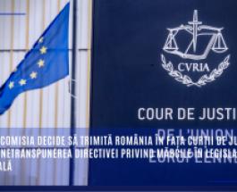 Mărci: Comisia decide să trimită România în fața Curții de Justiție pentru netranspunerea Directivei privind mărcile în legislația națională
