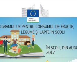 Lapte, fructe și legume pentru școlarii din Uniunea Europeană