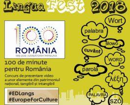 Câștigă o bicicletă la concursul LinguaFEST – 100 de minute pentru România!