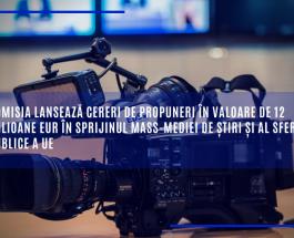 Comisia lansează cereri de propuneri în valoare de 12 milioane de euro în sprijinul mass-mediei de știri și al sferei publice a UE