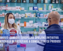 Coronavirus: Comisia Europeană sprijină inițiativa internațională de facilitare a comerțului cu produse medicale