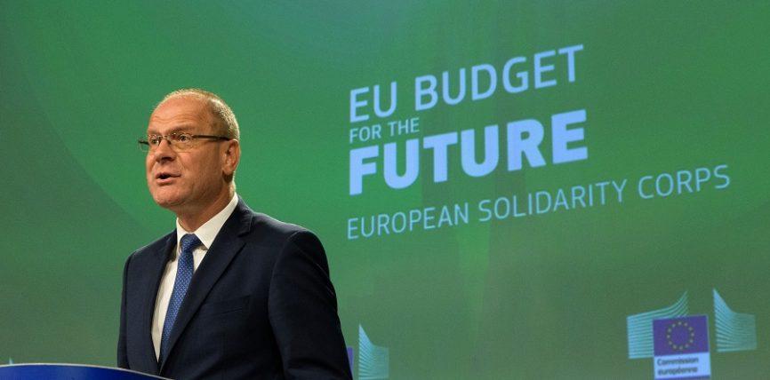 Bugetul UE: 1,26 miliarde € pentru consolidarea Corpului european de solidaritate