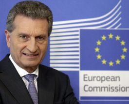 Comisarul european Günther H. Oettinger vizitează România