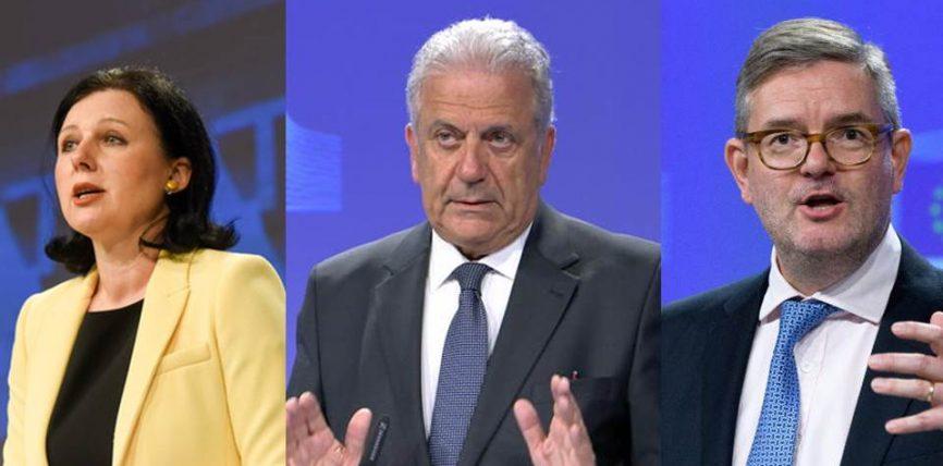 Comisarii Avramopoulos, King și Jourová participă la reuniunea informală a miniștrilor afacerilor interne și de justiție