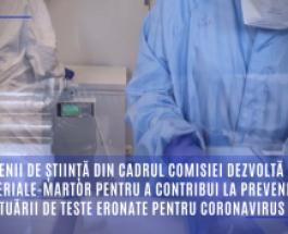 Oamenii de știință din cadrul Comisiei dezvoltă noi materiale-martor pentru a contribui la prevenirea efectuării de teste eronate pentru coronavirus