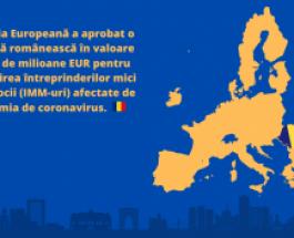 Ajutoare de stat: Comisia aprobă o schemă românească în valoare de 216 de milioane EUR pentru sprijinirea întreprinderilor mici și mijlocii afectate de pandemia de coronavirus