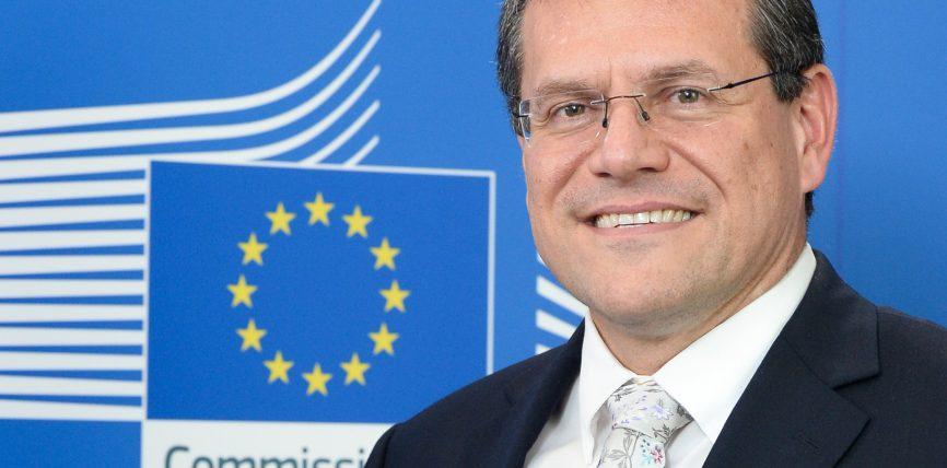 Vizita vicepreședintelui Comisiei Europene Maroš Šefčovič în România