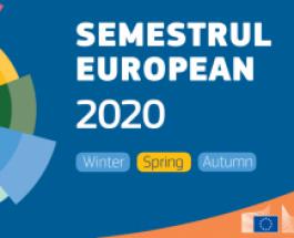 Semestrul european – Pachetul de primăvară: recomandări specifice României, în vederea unui răspuns coordonat la pandemia cauzată de coronavirus