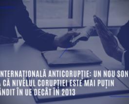 Ziua internațională Anticorupție: un nou sondaj arată că nivelul corupției este mai puțin răspândit în UE decât în 2013