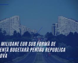 UE aprobă un nou pachet de asistență bugetară destinat Republicii Moldova pentru a sprijini o serie de reforme din domeniile statului de drept și dezvoltării rurale