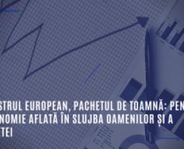 Semestrul european, pachetul de toamnă: pentru o economie aflată în slujba oamenilor și a planetei