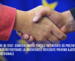 Ajutoare de stat: Comisia invită părțile interesate să prezinte observații referitoare la orientările revizuite privind ajutoarele de stat regionale