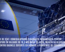 Ajutoare de stat: Comisia aprobă o garanție românească pentru împrumuturi în valoare de 19,3 milioane de euro, menită să despăgubească TAROM pentru daunele suferite ca urmare a pandemiei de coronavirus