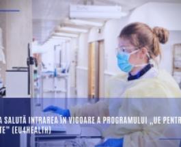 """Comisia salută intrarea în vigoare a programului """"UE pentru sănătate"""" (EU4Health)"""