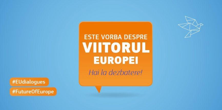 Dialog cu cetățenii al comisarilor europeni Phil Hogan și Corina Crețu la Cluj-Napoca