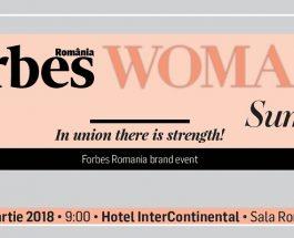 """Calitatea de lider la feminin la """"Forbes Woman Summit"""""""
